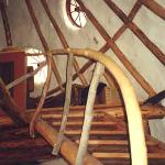 Earthbag Stairs - Hart House